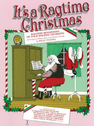 9780898983210: It's a Ragtime Christmas: Piano Solo (Piano Solo Songbook)
