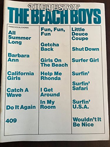 9780898984262 The Best Of The Beach Boys Pianovocalchords