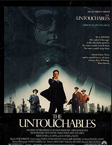 9780898985320: Selections from The untouchables: Original piano solo