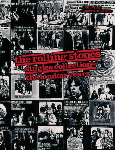 9780898985535: The Rolling Stones: Singles Collection - The London Years