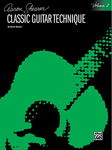 9780898985733: Classic Guitar Technique, Vol 2 (Shearer Series)