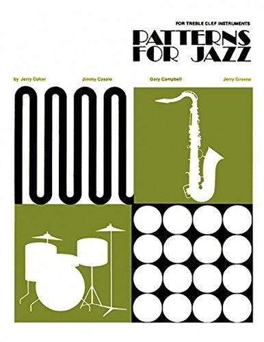 9780898987034: Patterns for Jazz Treble Clef Instruments