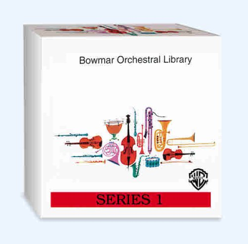 Bowmar Orchestral Library Series 1 (CD-Audio)