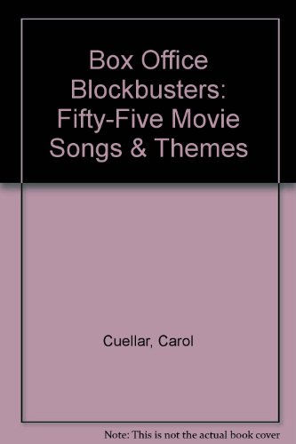 9780898987782: Box Office Blockbusters -- 55 Movie Songs & Themes: Piano/Vocal/Chords