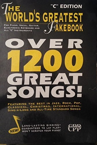 9780898988147: The World's Greatest Fakebook For Piano, Vocal, Guitar, Electronic Keyboard and All C Instruments