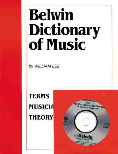 9780898988185: Belwin Dictionary of Music