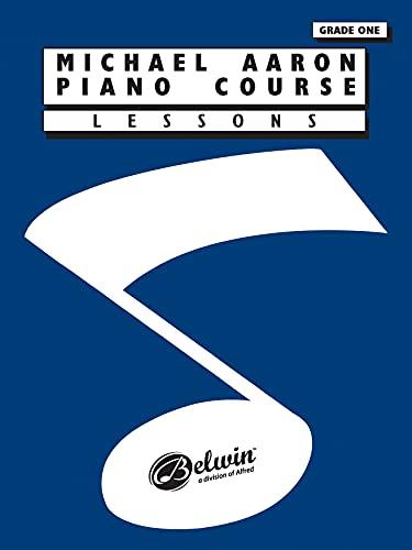9780898988550: MICHAEL AARON PIANO COURSE GRADE 1 LESSO: Lessons