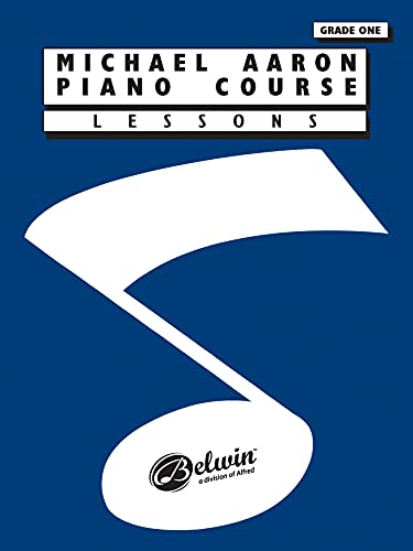 9780898988550: Michael Aaron Piano Course: Lessons Grade 1