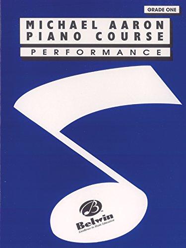 9780898988567: Michael Aaron Piano Course Performance (Grade 1)