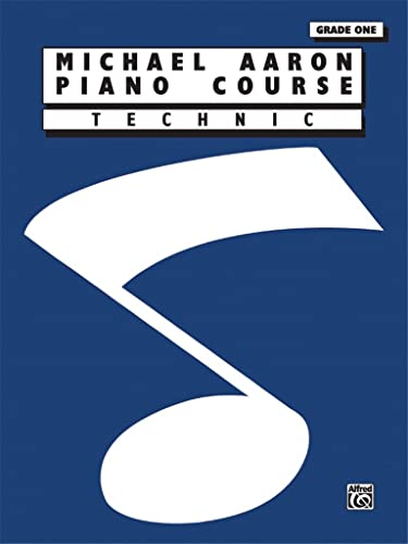 9780898988574: Michael Aaron Piano Course Technic: Grade 1