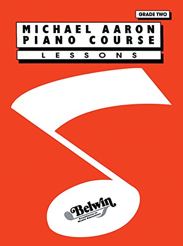 9780898988598: Michael Aaron Piano Course Lessons: Grade 2