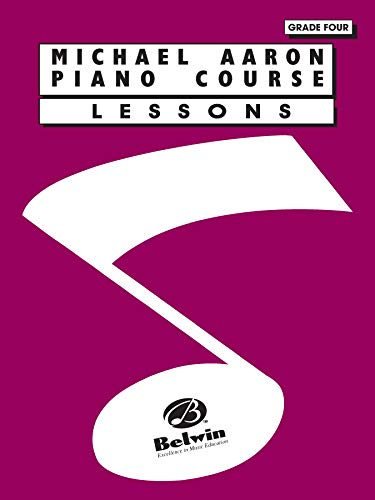9780898988673: Michael Aaron Piano Course Lessons: Grade 4