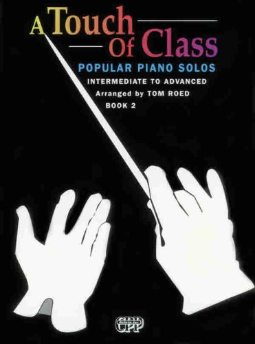 9780898988833: A Touch of Class: Popular Piano Solos