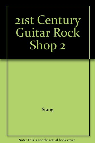 9780898989021: 21st Century Guitar Rock Shop 2