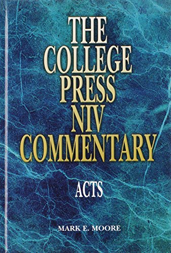 9780899005621: Acts - College Press NIV Commentary