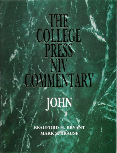 9780899006314: John (The College Press Niv Commentary)