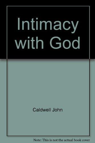 9780899006970: Intimacy with God