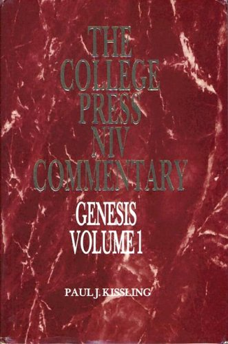 9780899008752: Genesis 1 (The College Press Niv Commentary. Old Testament Series)