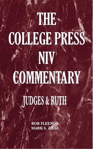 9780899009346: Judges & Ruth (College Press NIV Commentary)