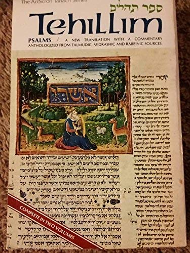 9780899060613: Tehillim: A New Translation with a Commentary Anthologized from Talmudic, Midrashic and Rabbinic Sources (The Artscroll Tanach Series, Volume 1) (Paperback)