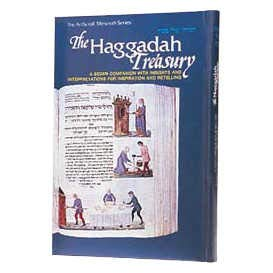The Haggadah treasury: a Seder companion with insights and interpretations for inspiration and ...