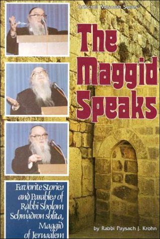 9780899062310: Maggid Speaks: Favorite Stories & Parables of Rabbi Sholom Schwadron (Artscroll Series)