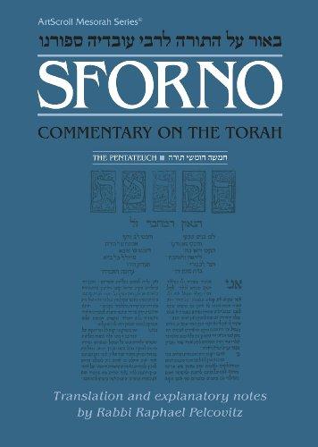 9780899062686: Sforno: Commentary on the Torah, Complete Volume (The ArtScroll Mesorah Series)