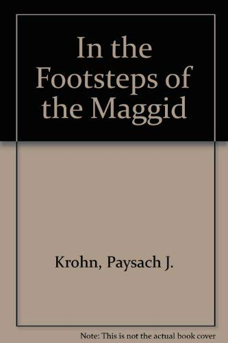 9780899065977: In the Footsteps of the Maggid