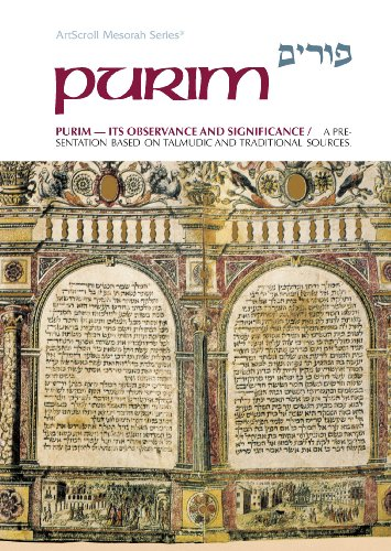 9780899066080: Purim Its Observance and Significance
