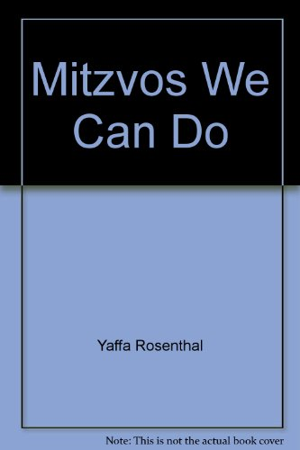 9780899067766: Mitzvos We Can Do