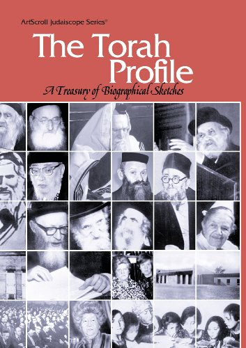 9780899068619: The Torah Profile: A Treasury of Biographical Sketches