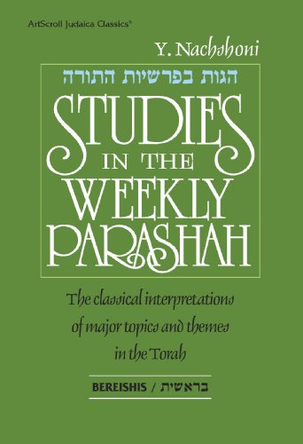 9780899069333: Studies on the Weekly Parashah: Bereishis