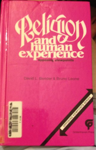 9780899083339: Religion and Human Experience