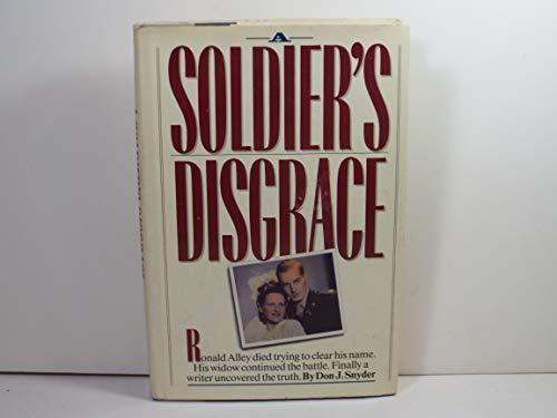 9780899091396: A Soldier's Disgrace