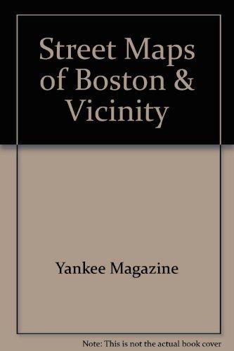 9780899093550: Street Maps Boston 5e