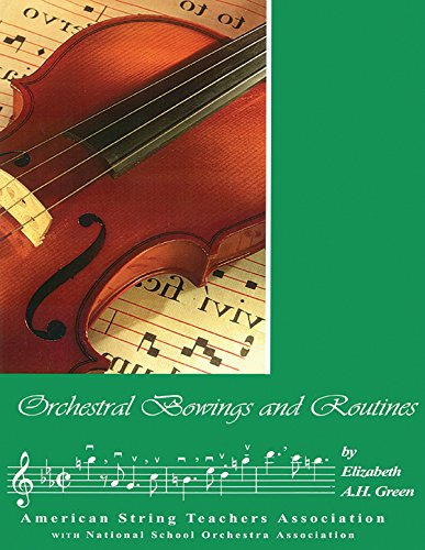9780899176062: Orchestral Bowings and Routines