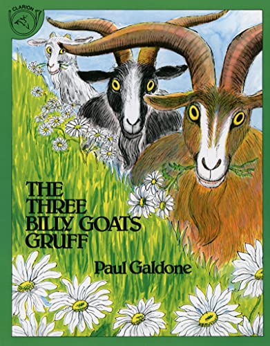 9780899190358: The Three Billy Goats Gruff (Paul Galdone Classics)