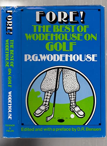 9780899192123: Fore!: Best of Wodehouse on Golf