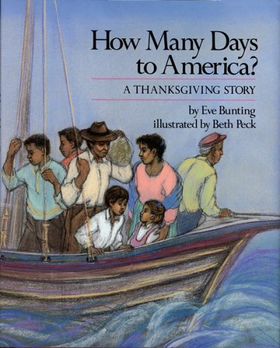 9780899195216: How Many Days to America?: A Thanksgiving Story