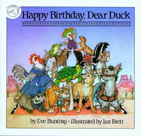 HAPPY BIRTHDAY, DEAR DUCK: Bunting