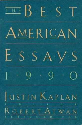best american essays atwan The best american essays 2017 - ebook written by leslie jamison, robert atwan read this book using google play books app on your pc, android, ios devices download.