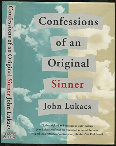 9780899199566: CONFESSIONS OF AN ORIGINAL SINNER