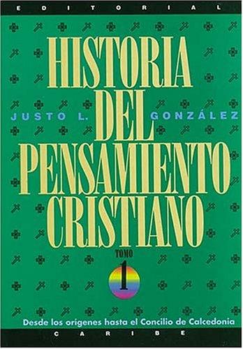 9780899221816: Historia de Pensamiento Cristiano: Tomos 1