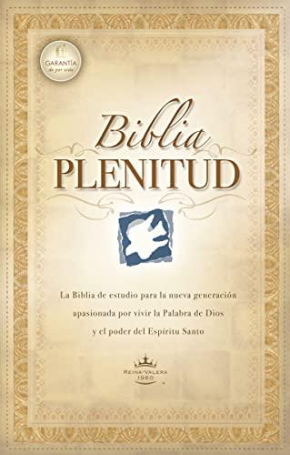 9780899222769: Biblia Plenitud = Spirit-Filled Life Bible (Spirit-Filled Life Bibles)