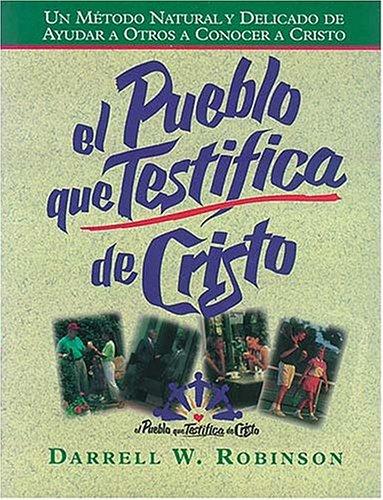 9780899223100: Pueblo Que Testifica De Cristo (serie)