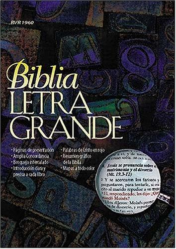 9780899224251: Biblia Letra Grande Imitacion, Piel Negra (Spanish Edition)