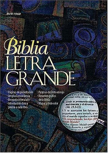 9780899224275: Biblia De Referencias De Letra Grande
