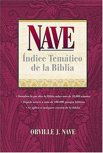 9780899225302: Nave: Indice Tematico de La Biblia