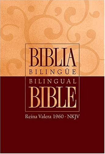 9780899225586: Biblia Bilingüe - Piel Elaborada Negra Rvr 1960-nkjv