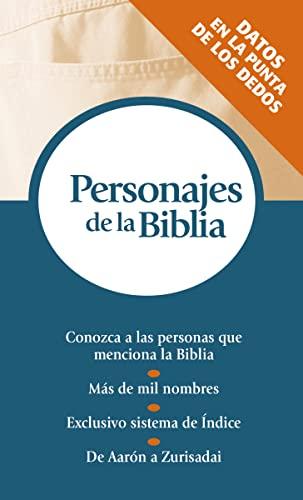 Personajes de La Biblia: Serie Referencias de: Nelson Reference